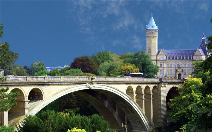 luxembourg-city architecture wallpaper Views:6426