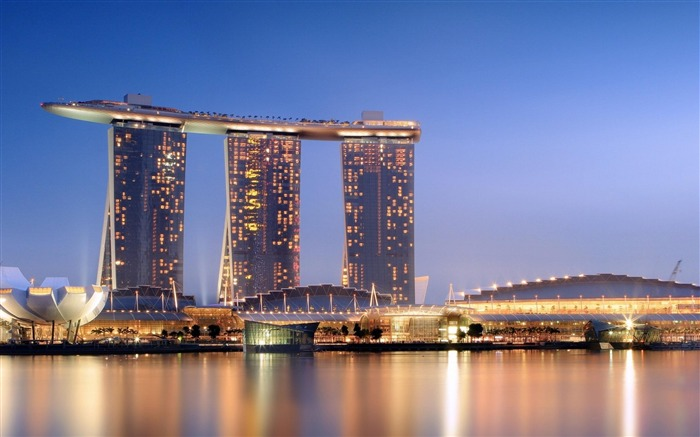 marina bay sands-city architecture wallpaper Views:18208