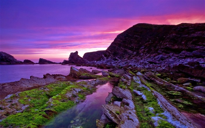 mupe bay england-scenery wallpaper Views:8264