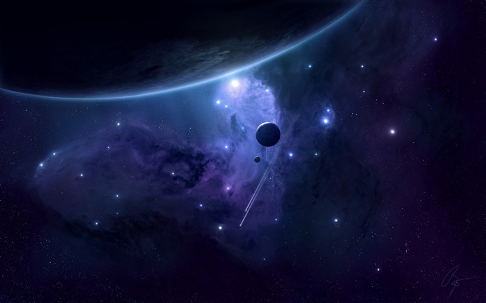planets-universe photography wallpaper Views:6344