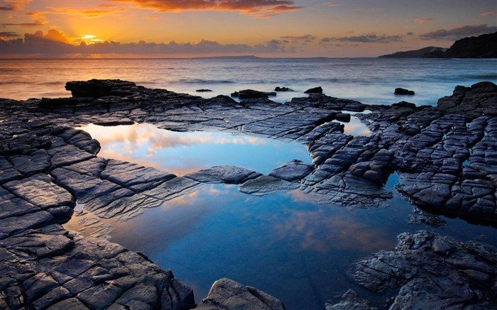 rockpool england-scenery wallpaper Views:5371
