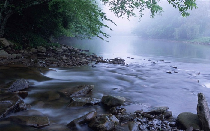 scenic river-Landscape photography wallpaper Views:3674