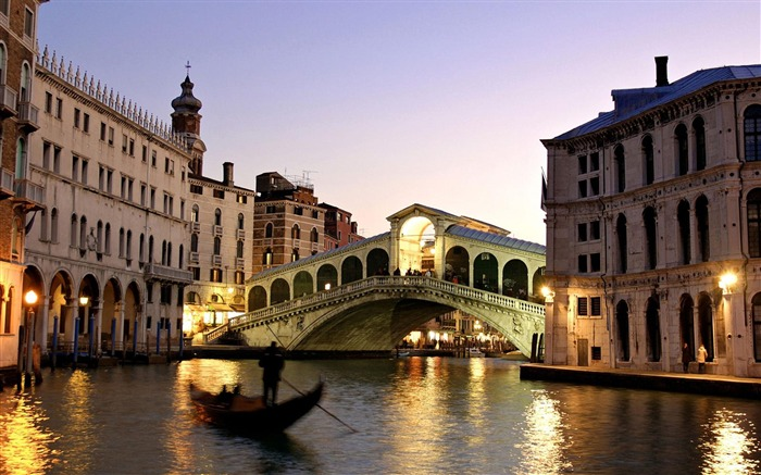 venice italy romantic tourism-City Landscape Wallpaper Views:68781