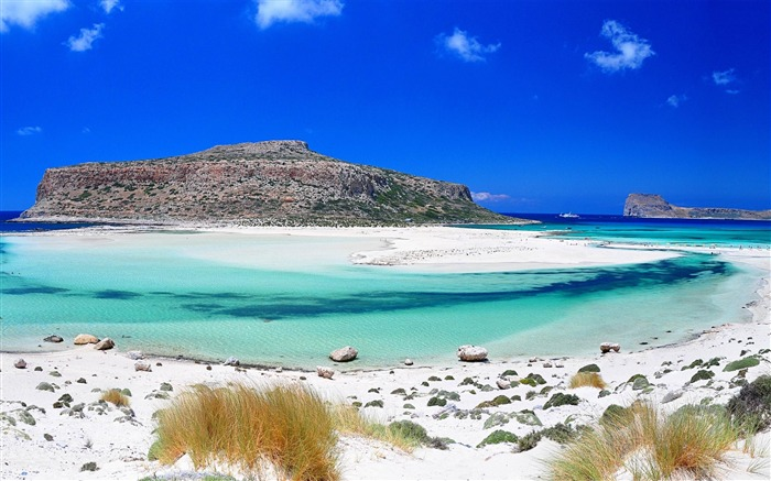 Balos Beach Gramvousa-Summer Beach Wallpaper Views:11808