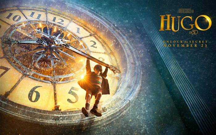 Hugo HD Movie Desktop Wallpaper Views:6957