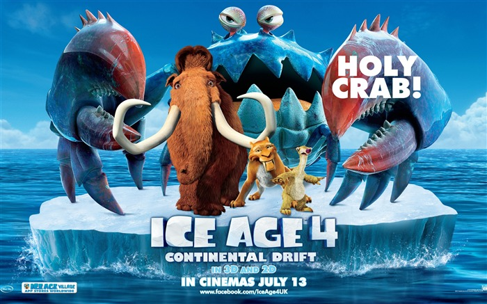 Ice Age 4-Continental Drift Movie HD Wallpaper Views:7354