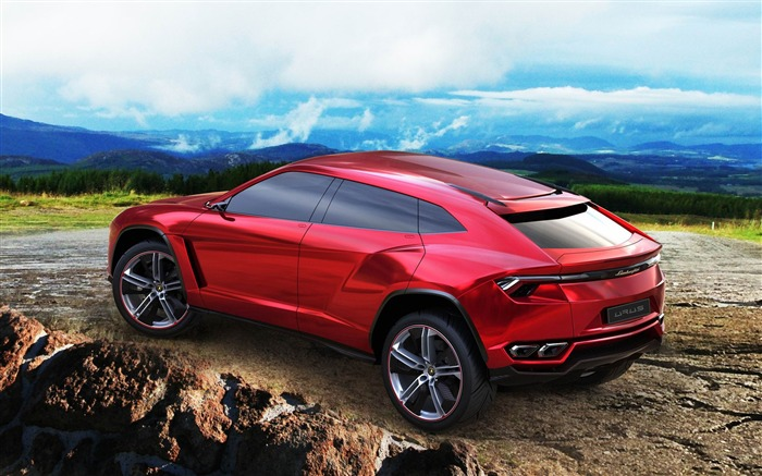 Lamborghini Urus Concept Auto Car Wallpaper Views:6774