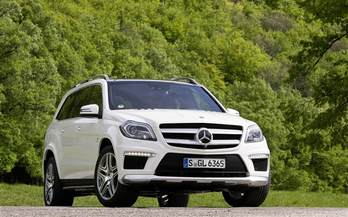Mercedes-Benz GL 63 AMG Auto HD Wallpaper Views:8161