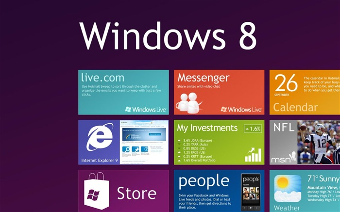 Microsoft Windows 8 desktop wallpaper Views:16891