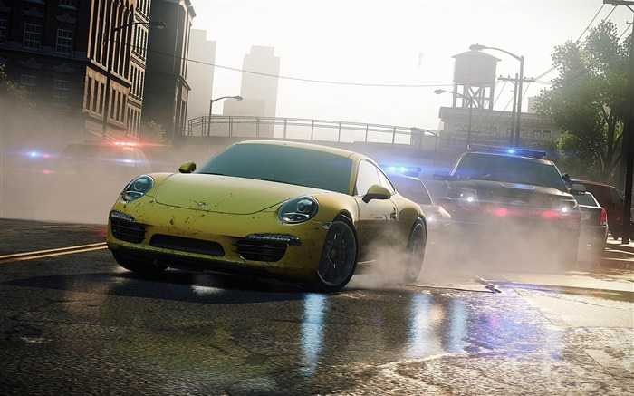 Need for Speed-Most Wanted Game HD Wallpaper 03 Views:8449