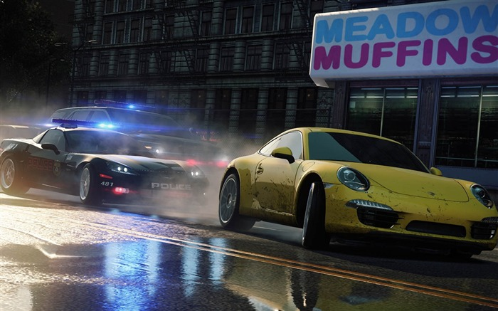 Need for Speed-Most Wanted Game HD Wallpaper 04 Views:10446
