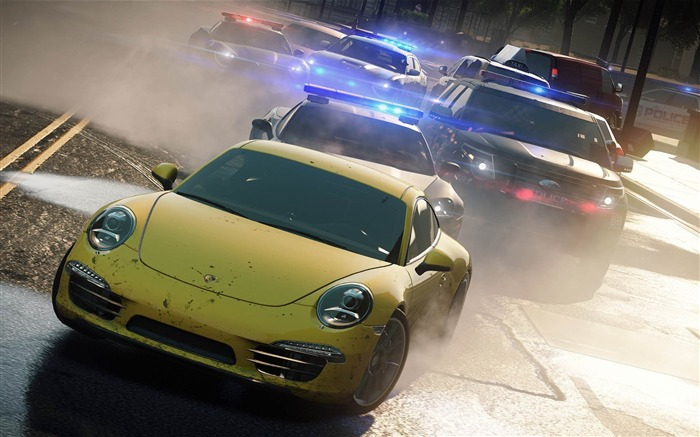 Need for Speed-Most Wanted Game HD Wallpaper 06 Views:8839