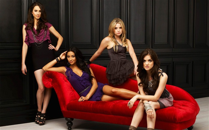 Pretty Little Liars-American TV series Wallpaper Views:15949