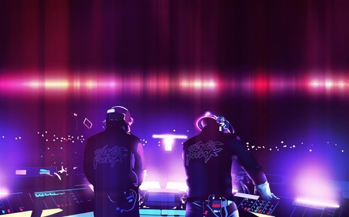 daft punk duo-High Quality wallpaper Views:7321