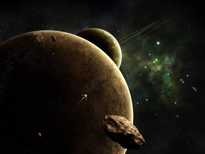 going to planet-universe space wallpaper Views:3451
