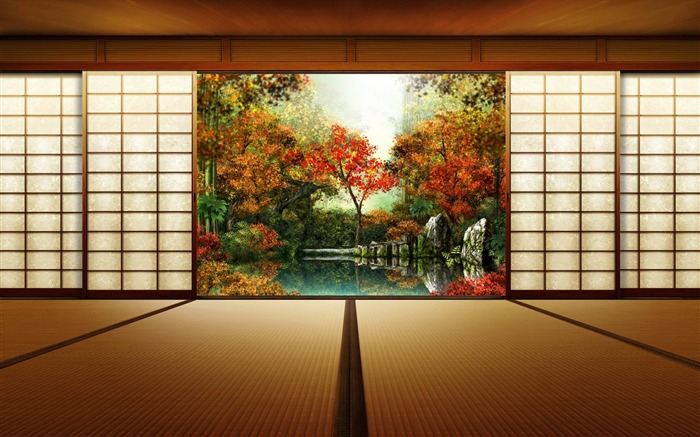 japanese garden-High Quality wallpaper Views:24163