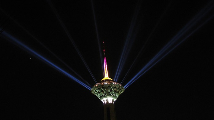 milad tower tehran-Iran landscape wallpaper Views:5310