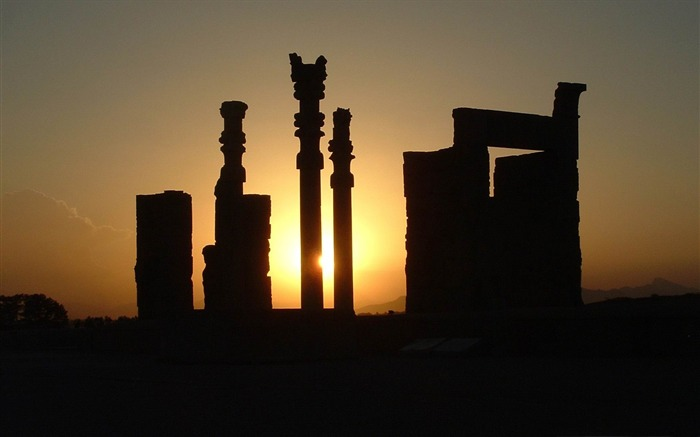 persepolis-Iran landscape wallpaper Views:5590