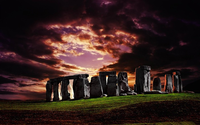 stonehenge-Aero Creative wallpaper Views:6140