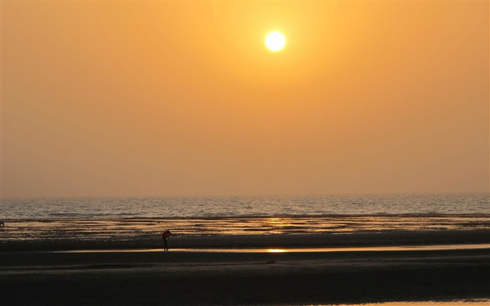 sunset bushehr-Iran landscape wallpaper Views:3769