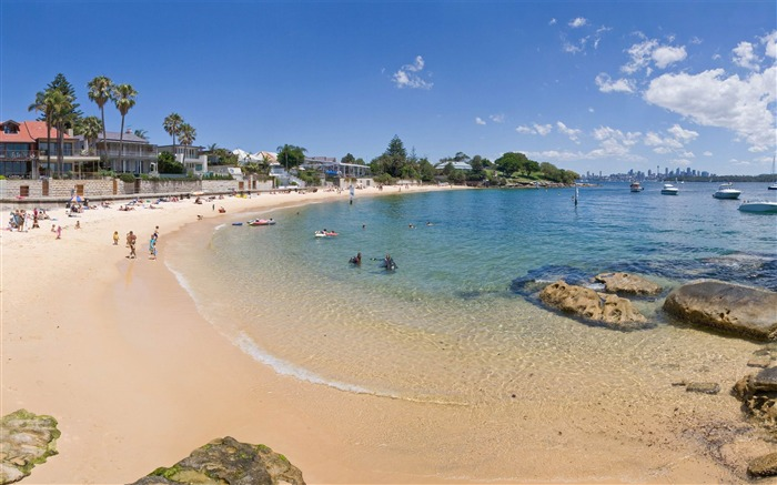 watsons bay sydney-Summer Beach Wallpaper Views:5348