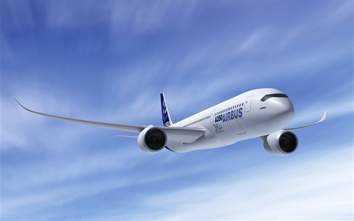 Airbus A350-Aircraft transport Wallpaper Views:15092