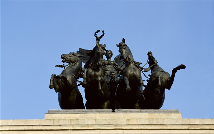 Angel horse bronze statue-London Photography Wallpapers Views:4585