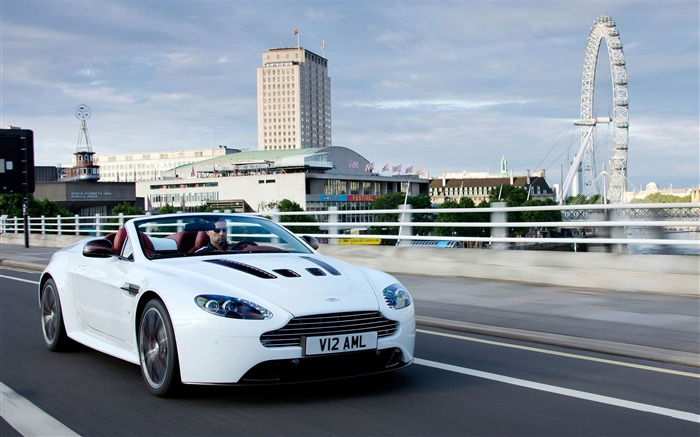 Aston Martin V12 Vantage roadster Auto HD Wallpaper Views:8122