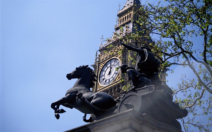 Boudicca chariot statue-London Photography Wallpapers Views:8821