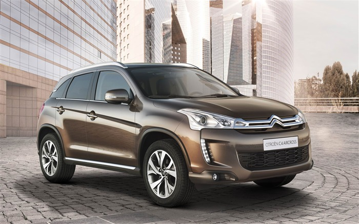 Citroen C4 Aircross Auto HD Wallpaper Views:5266