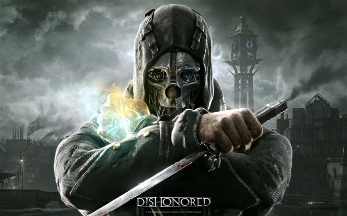 Dishonored Game HD Wallpaper Views:13239