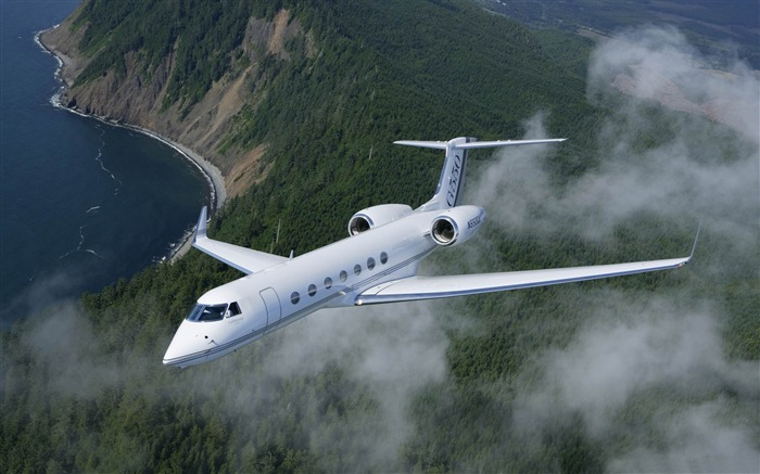 Gulfstream G550-Aircraft transport Wallpaper Views:8492
