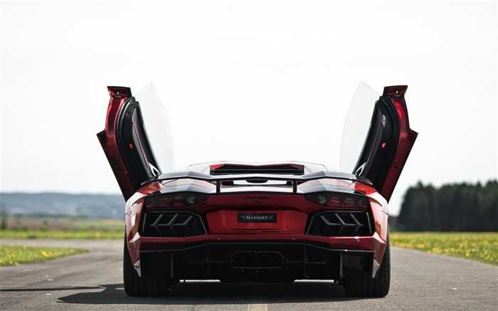 Lamborghini Aventador Mansory Auto HD Wallpaper Views:9393