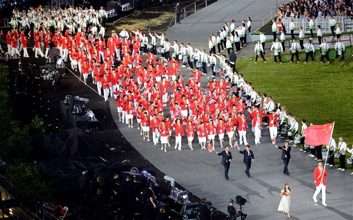 Leading The Way-London 2012 Olympics opening ceremony Wallpaper Views:3765