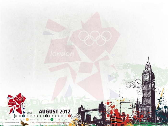 Title:London 2012 Olympic Games-August 2012 calendar wallpaper Views:5062
