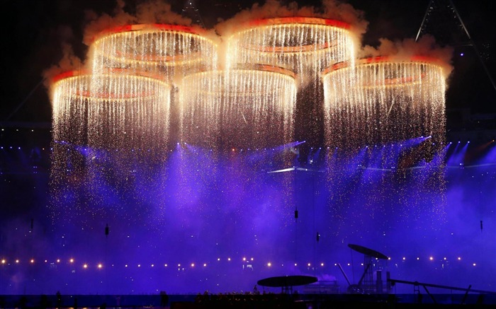 London 2012 Olympics opening ceremony HD Wallpaper Views:12219
