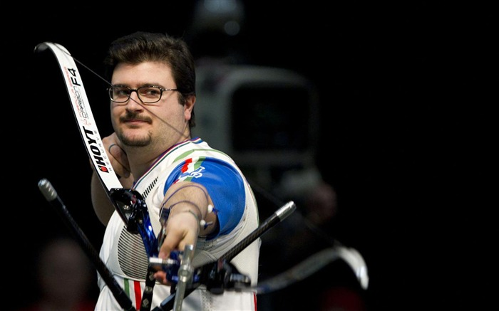 Marco Galiazzo Archery Gold Italy-London 2012 Views:6095