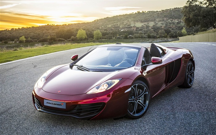 McLaren MP4-12C Spider Auto HD Wallpaper Views:10399