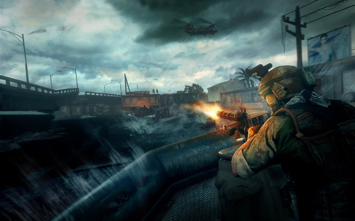 Medal Of Honor WarFighter Game HD Wallpaper 12 Views:10364