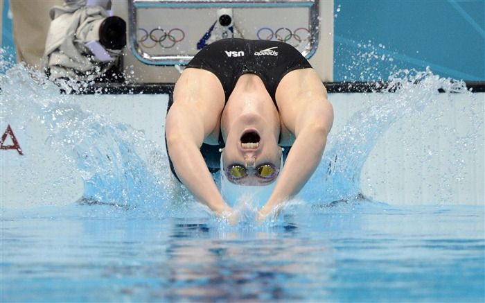 Missy Franklin-London 2012 Views:7546