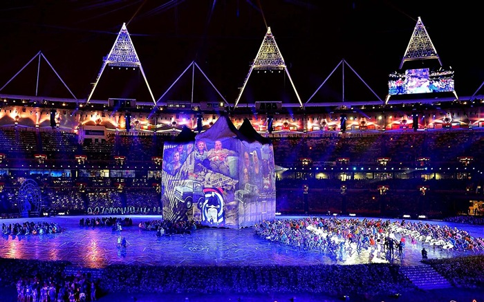 Opening Ceremony London 2012 Blue Views:3747
