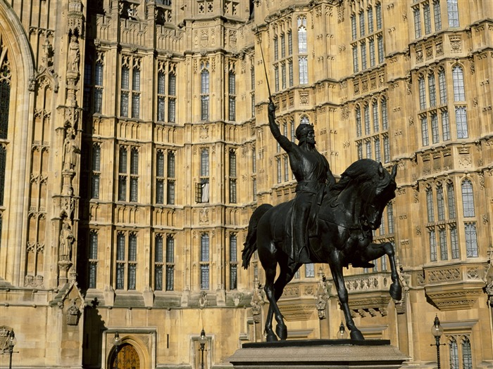 Richard 1 statue-London Photography Wallpapers Views:3383