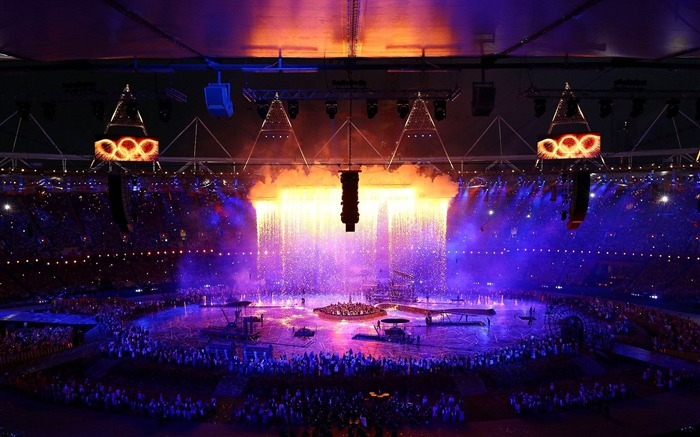 Rising Above-London 2012 Olympics opening ceremony Wallpaper Views:2784