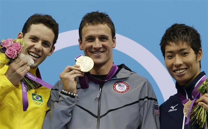 Ryan Lochte Swimming Gold United States -London 2012 Views:4079