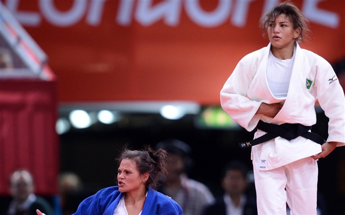 Sarah Menezes Champion Wrestling Brazil -London 2012 Views:4325