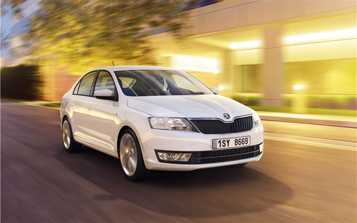 Skoda Rapid Auto HD Wallpaper Views:8476