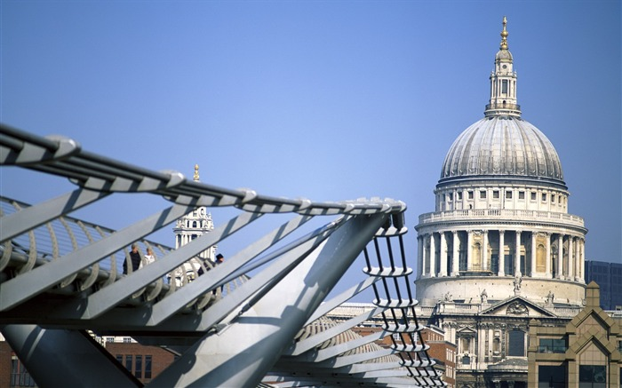 St Pauls Cathedral-London Photography Wallpapers Views:3692