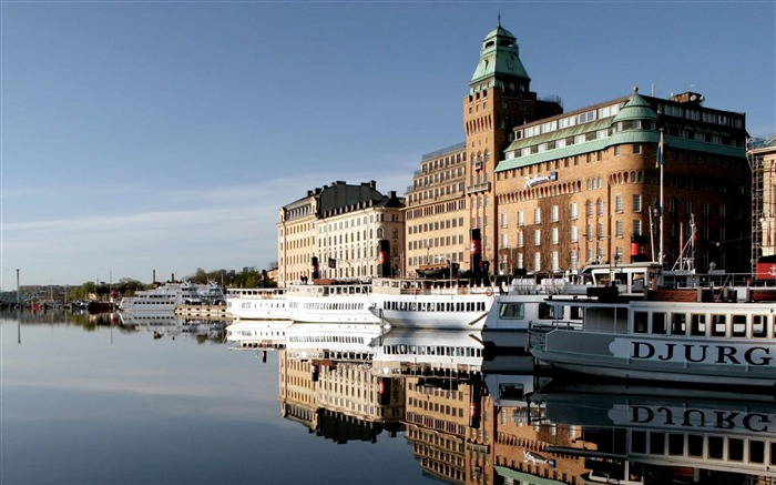 Stockholm Sweden-Cities photography wallpaper Views:5264