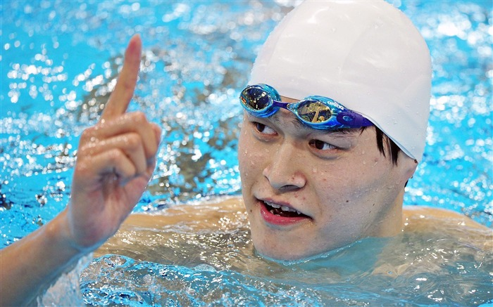 Sun Yang Swimming Gold China-London 2012 Views:7426