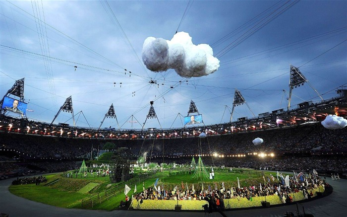 The Sky Is The Limit-London 2012 Olympics opening ceremony Wallpaper Views:1829